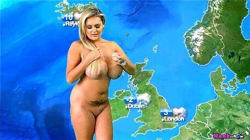 Weather girl nude Reality TV