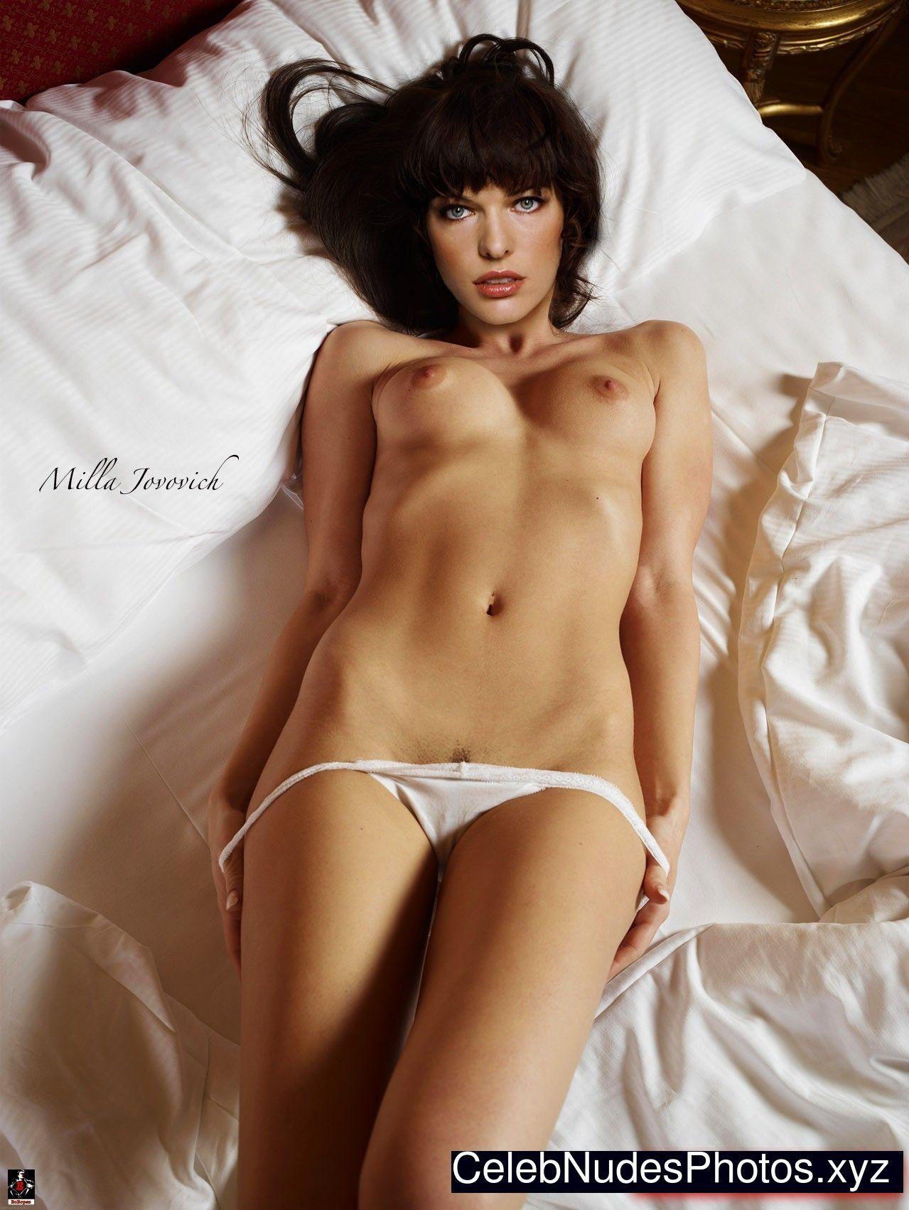 Milla jovovich xxx