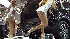 best of Carshow Upskirt at