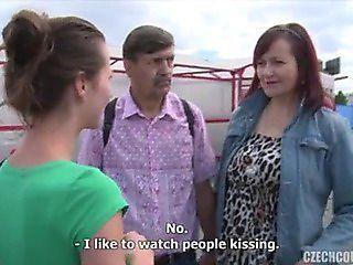 Dahlia reccomend Czech interracial clips video