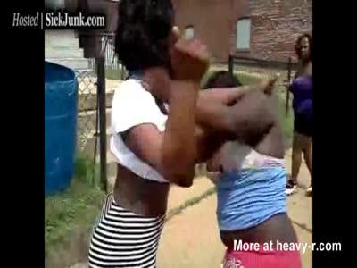 Girls fighting naked fight
