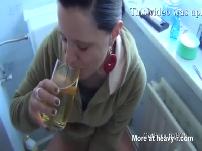 Bazooka reccomend Peeing in a glass then drinking it