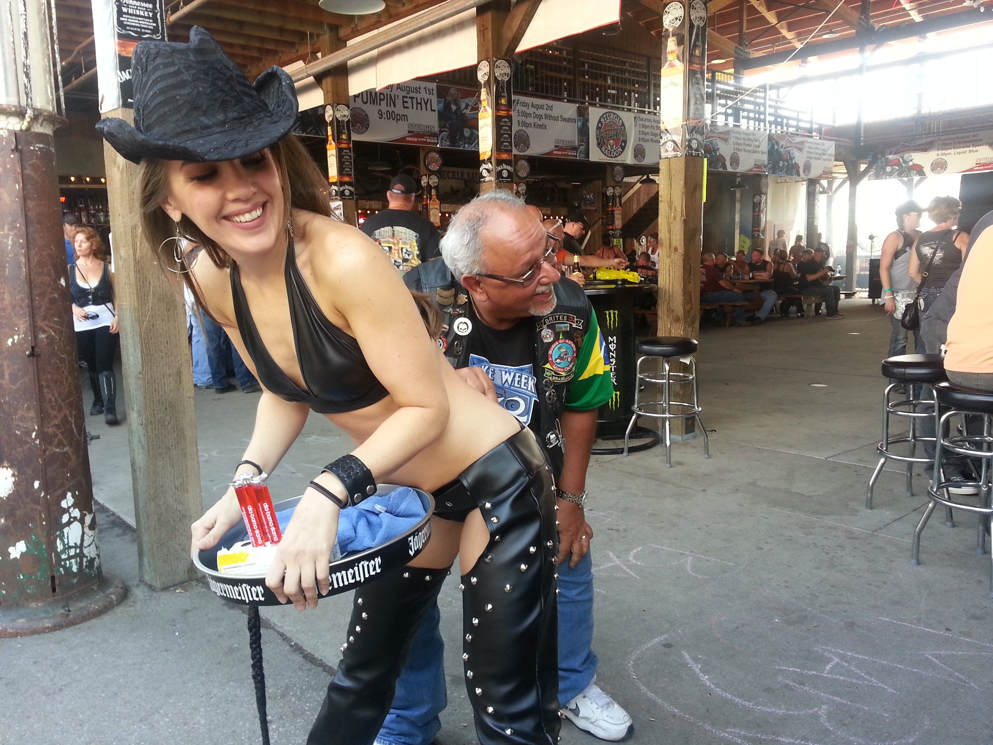 Leather reccomend Sexiest girls at sturgis