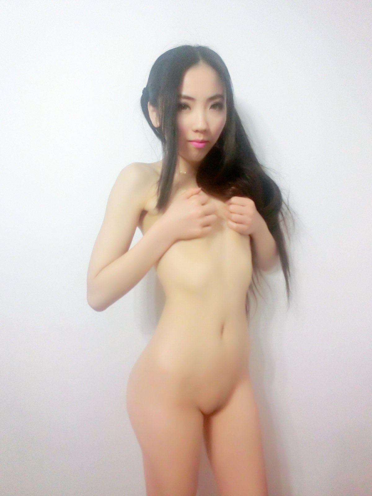 Tiny naked asian women